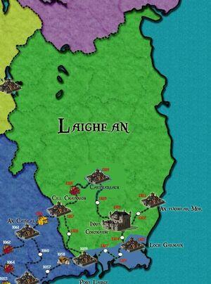 Laighean Map
