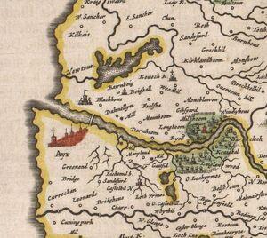Map AyrTown