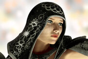 Hooded woman portrait by walbyent-d2t3iw8