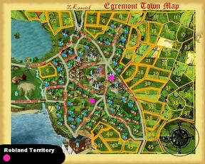 Robland capital town map territory