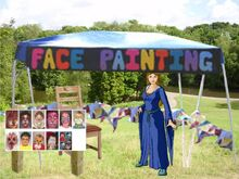 Facepainting booth