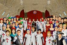 Grand hall ceremonb