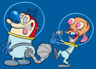 Up-ren and stimpy