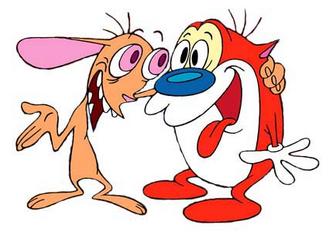 Ren Höek and Stimpy