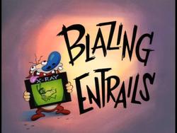 Blazing Entrails (Title Card)