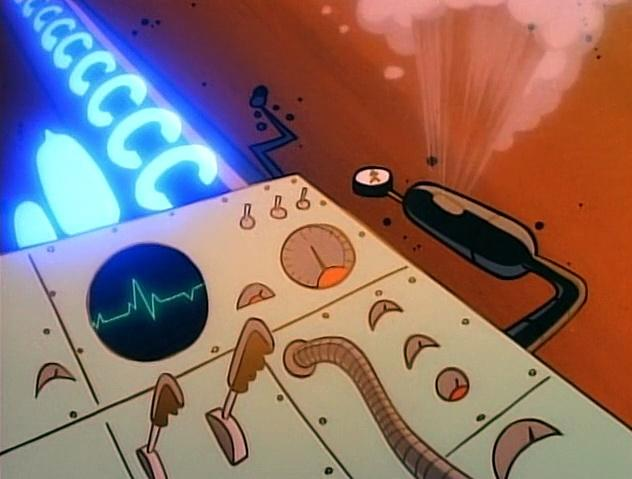 The Ren and Stimpy Show S4 E11 - Powdered Toast Man vs. Waffle Woman