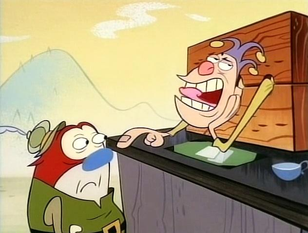 The Ren and Stimpy Show S4 E08 - Magical Golden Singing Cheeses