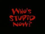Who's Stupid Now?