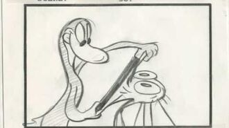 Ren and Stimpy The Wilderness Adventure storyboards Part 2
