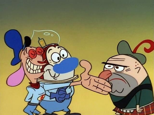 The Ren and Stimpy Show S4 E15 - Scotsman in Space