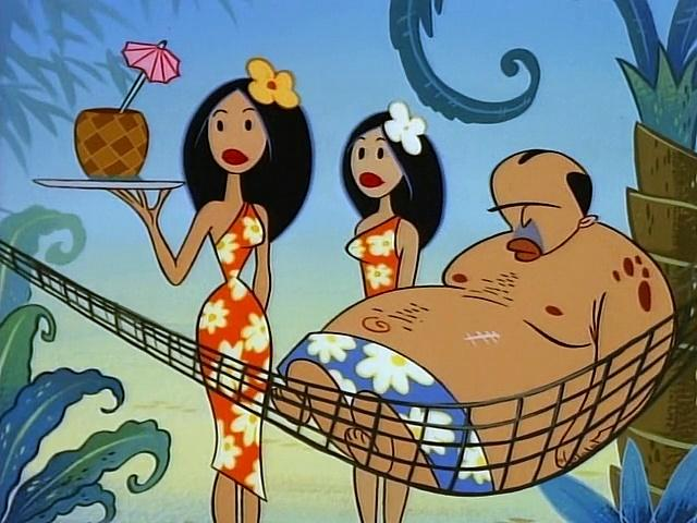 The Ren and Stimpy Show S4 E17 - Aloha Hoek