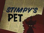Stimpy's Pet