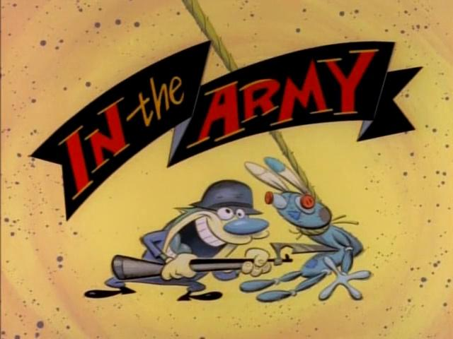 The Ren and Stimpy Show S2 E01 - In the Army