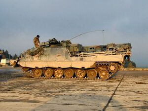 Armoured Recovery Vehicle Tracked