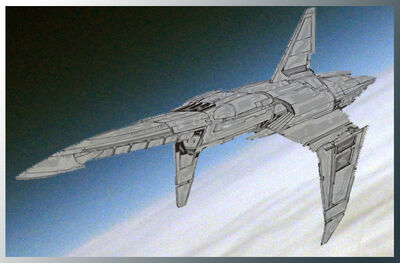 Proelium-class supercarrier Renegade Legion by Sings-With-Spirits