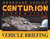 Centurion vehicle briefing 01