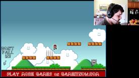 Unfair Mario 1 screen