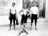 Deelnemers Giro 1909