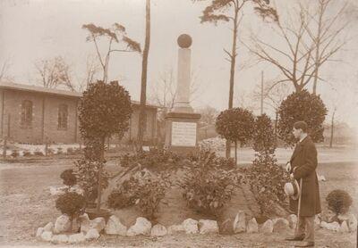 Berlin Gedenksteen aan Walter Rutt velodroom