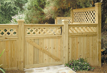 Fence-lattice
