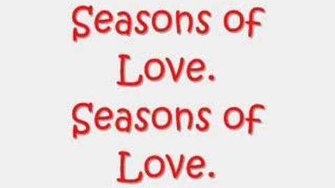 Seasons Of Love (With Lyrics♪)