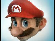 Ape Escape - realistic Mario head