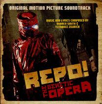 Repo! The Genetic Opera- Original Motion Picture Soundtrack Cover