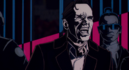 Luigi Largo, credits, comic style
