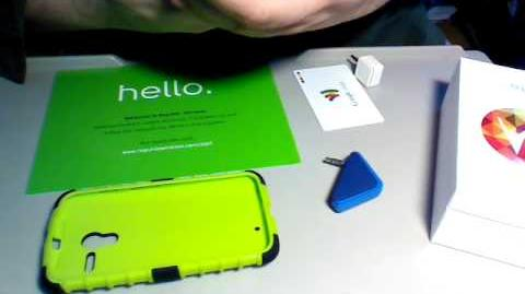 Republic Wireless Moto X. Credit card readers tested