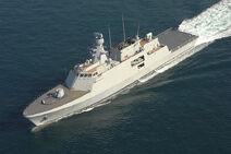 800px-F-511 TCG Heybeliada MILGEM corvette sea trials