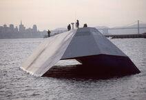 US Navy Sea Shadow stealth craft