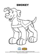 Rescue Heroes Smokey Coloring Page