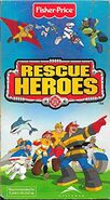 Rescue Heroes Lava Alarm VHS