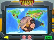 Rescue Heroes Meteor Madness Trouble Spot Map