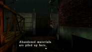 Resident Evil CODE Veronica - passage in front of prisoner building - examines 01-1