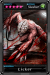 Deadman's Cross - Licker card