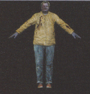 Degeneration Zombie body model 4