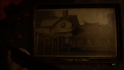 Resident Evil 7 Old House painting