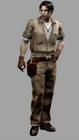 Resident evil outbreak david king artwork 3d model ingame