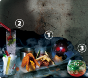 BIOHAZARD THE ESCAPE 2 - food and drink