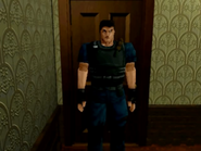 Chris alternate uniform - sega saturn