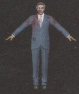 Degeneration Zombie body model 51