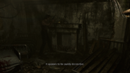 Resident Evil 0 HD - Dormitory A fireplace examine 2