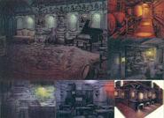 Resident Evil Zero concept art 6