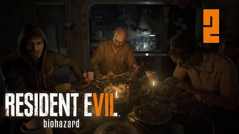 Resident Evil 7 Biohazard 2 Dinner Time Время ужина No Commentary Walkthrough PC