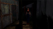 Resident Evil CODE Veronica - square in front of the guillotine - gameplay 05