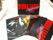 BIOHAZARD Nightmare postcards 1