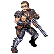 Chris RE5 Warrior Costume Clan Master