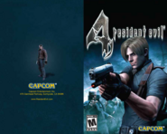 Resident Evil 4 PlayStation 2 manual 1