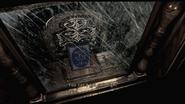 Resident Evil HD Eagle bookshelf examine 2